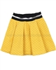 Deux par Deux Yellow Skirt Print Paris Je T'aime