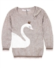 Deux par Deux Sweater with Swan Dancing Queen