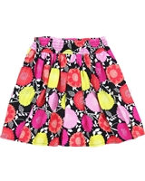 Deux par Deux Skirt in Floral Print So Happy
