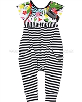 Deux par Deux Jumpsuit Jungle Pop