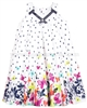 Deux par Deux Dot and Butterflies Printed Dress Coup de Foudre
