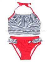 Deux par Deux Striped Tankini Coast to Coast
