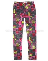 Deux par Deux Printed Leggings an Eye on Fashion