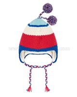 Deux par Deux Ear-flap Hat Hat Retro Alpine