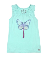 Deux par Deux Tank Top Miss Butterfly