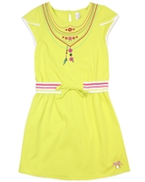 Deux par Deux Yellow Sporty Dress Flamingo Edit