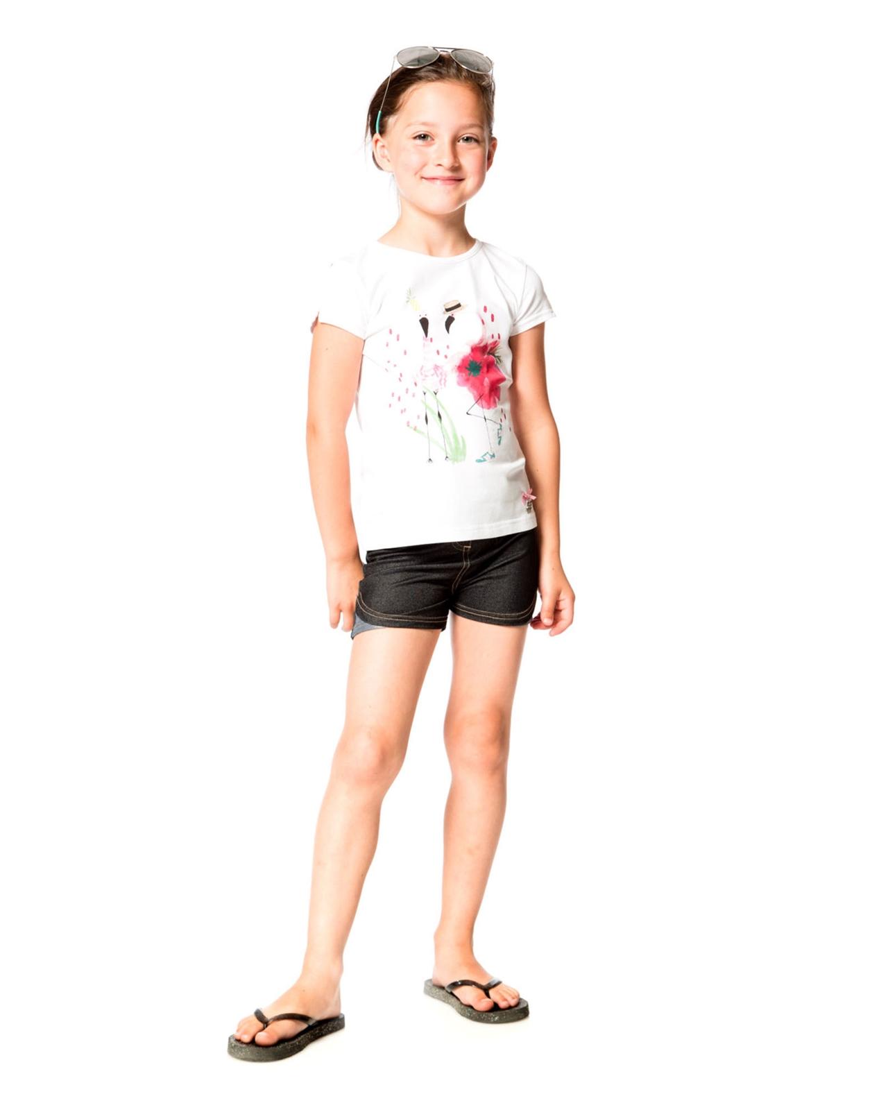 Sizes 5-12 Deux par Deux Girls Red Tank Top Flamingo Edit