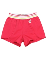 Deux par Deux Red Shorts Flamingo Edit