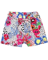 Deux par Deux Printed Shorts So Safari