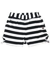 Deux par Deux Striped Shorts So Safari