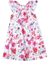 Deux par Deux Floral Print Dress High Style at Low Tide