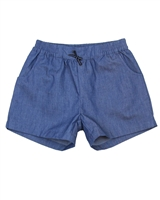Deux par Deux Chambray Shorts High Style at Low Tide