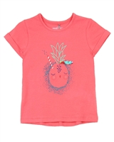 Deux par Deux Coral T-shirt Cold Press Fashion