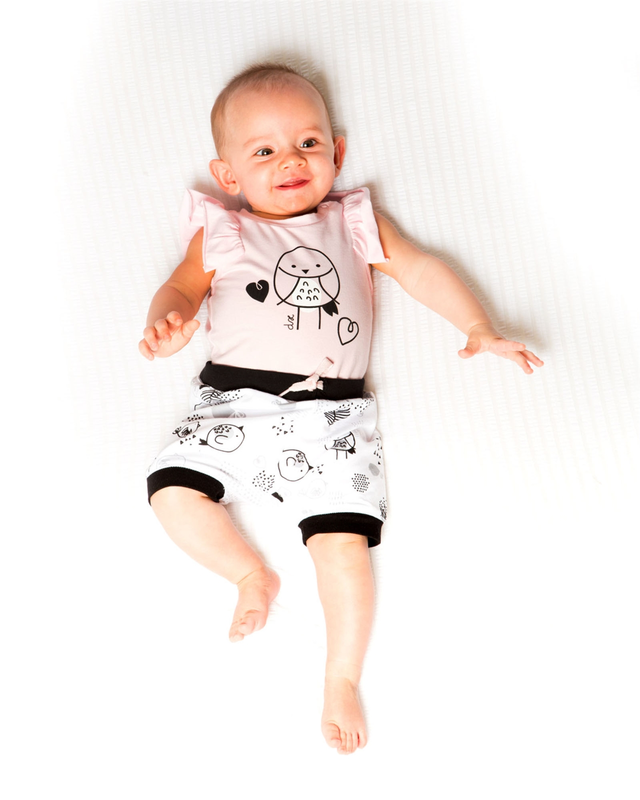 Sizes 12-24M Deux par Deux Baby Girls/' Pink Tunic and Pants Whole Wheat Baby