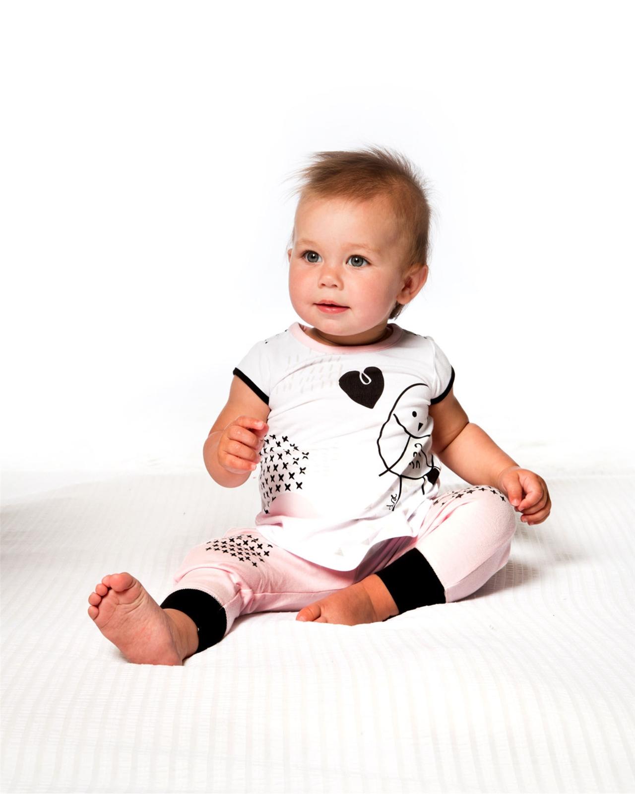 Deux par Deux Baby Girls/' Knit Set Call Me Baby Sizes 12-24M