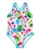 Deux par Deux Tropical Print Swimsuit Playa Del Mar