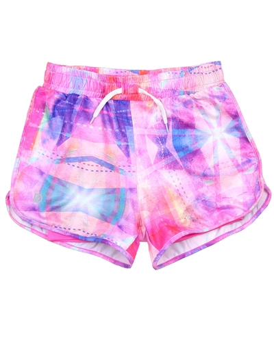 Deux par Deux Sport Shorts Jump, Run and Shout