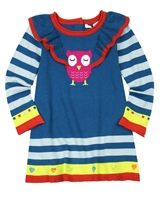 Deux par Deux Knit Tunic Owl You Need is Love