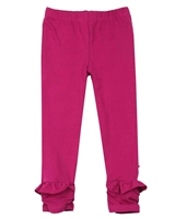 Deux par Deux Leggings in Fuchsia Preppy Chic