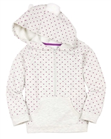 Deux par Deux Hooded Sweatshirt Winter Treats