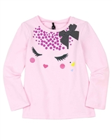 Deux par Deux T-shirt in Pink Winter Treats
