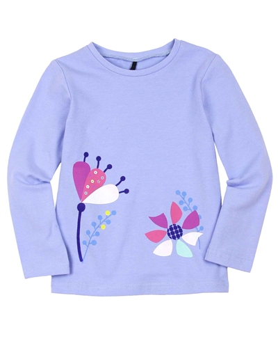 Deux par Deux T-shirt in Lavender Winter Treats