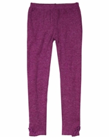 Deux par Deux Leggings in Magenta Circle of Friends