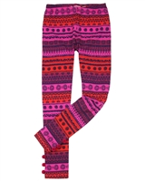 Deux par Deux Striped Leggings Mandala Therapy