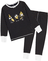 Deux par Deux Gold Dots Pyjamas Set