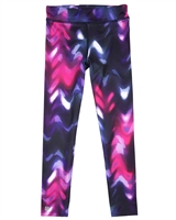 Deux par Deux Printed Sport Leggings Ready, Set, Go!