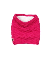 Deux par Deux Girls Neck-warmer Fuchsia