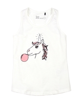 Deux par Deux Tank Top Unicorn Hype
