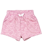Deux par Deux Terry Shorts in Pink Unicorn Hype