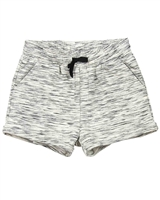 Deux par Deux Terry Shorts in Black Unicorn Hype