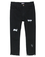 Deux par Deux Distressed Skinny Denim Pants Unicorn Hype