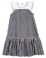 Deux par Deux Plaid Dress Zest of Lemon