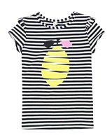 Deux par Deux Striped T-shirt Zest of Lemon