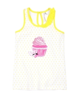 Deux par Deux Tank Top with Cupcake Zest of Lemon
