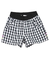 Deux par Deux Plaid Shorts Zest of Lemon