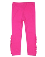 Deux par Deux Fuchsia Leggings Zest of Lemon