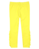 Deux par Deux Yellow Leggings Zest of Lemon