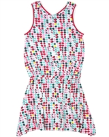 Deux par Deux Multi Colour Polka Dot Dress The Cockatoo Edit