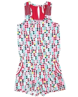 Deux par Deux Multi Colour Polka Dot Romper The Cockatoo Edit
