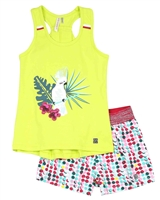 Deux par Deux Yellow Cami and Shorts Set The Cockatoo Edit