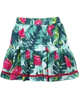 Deux par Deux Watermelon Print Skirt The Cockatoo Edit