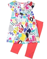 Deux par Deux Tunic and Leggings Set The Artist!