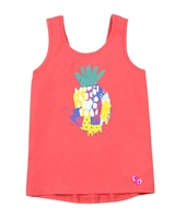 Deux par Deux Coral Tank Top The Artist!