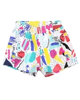 Deux par Deux Multi Colour Shorts The Artist!