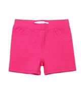 Deux par Deux Jeggings Shorts in Fuchsia