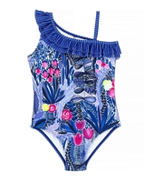 Deux par Deux One-pice Swimsuit Print Splish Splash